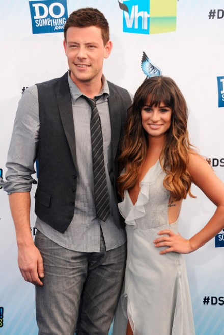 Cory Monteith and Lea Michele at the Do Something Awards 2012 in Los Angeles