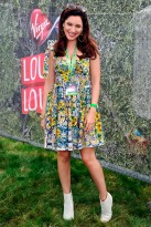 Kelly Brook at V Festival 2012