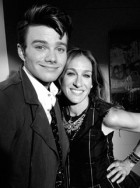 Chris Colfer and Sarah Jessica Parker