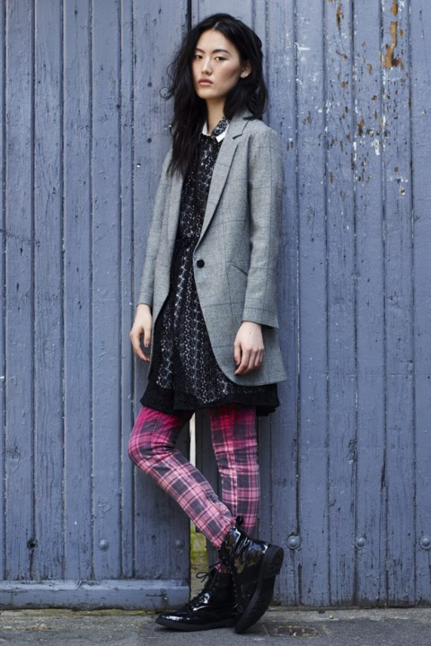 Topshop autumn/winter 2012 lookbook pictures