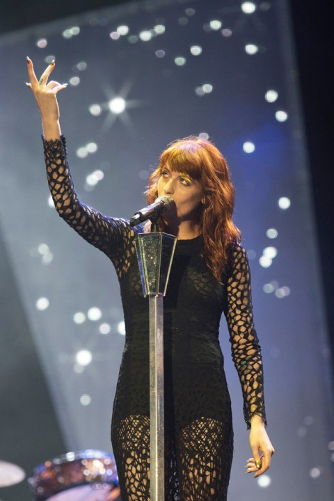 Florence Welch at Reading Festival 2012