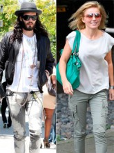 Russell Brand dating Geri Halliwell?