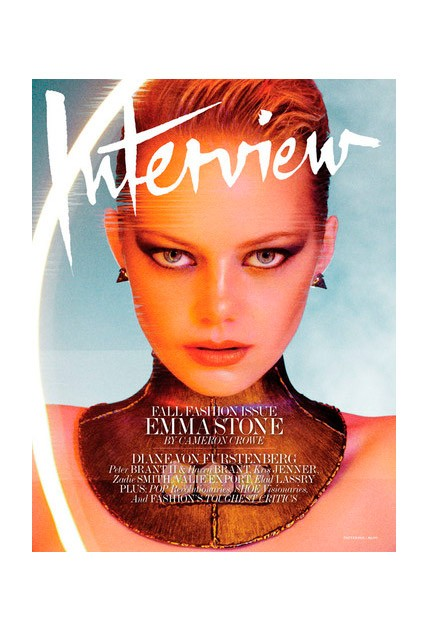 Emma Stone covers Interview Magazine