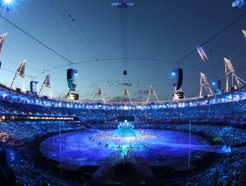 London Paralympics 2012 opening ceremony