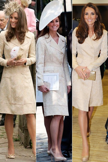 Kate Middleton recycles DAY Birger et Mikkelsen coat dress at Paralympics Opening Ceremony