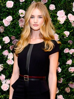 Rosie Huntington-Whiteley launches her Rosie for Autograph lingerie collection at M&S in London