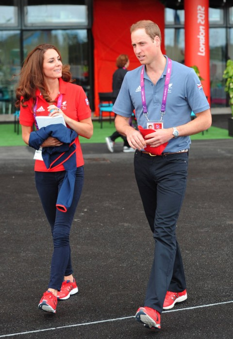 Prince William and Kate Middleton at the Paralympics 2012