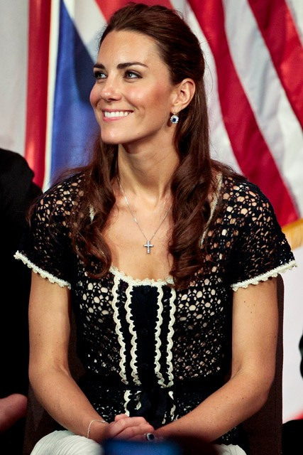 Kate Middleton to give first public overseas speech