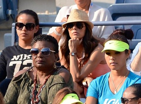 Eva Longoria at the US Open