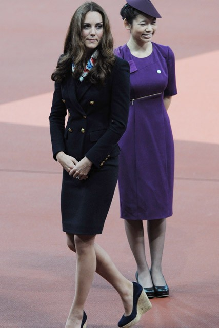Kate Middleton - Duchess of Cambridge - Paralympics 2012