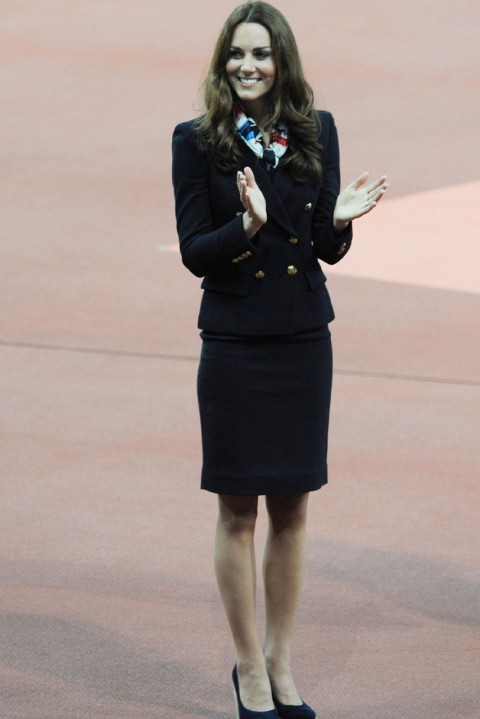 Kate Middleton at the London Paralympics 2012