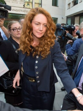 Rebekah Brooks at court