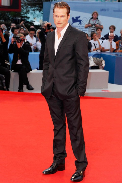 Jason Lewis at the Venice Film Festival 2012