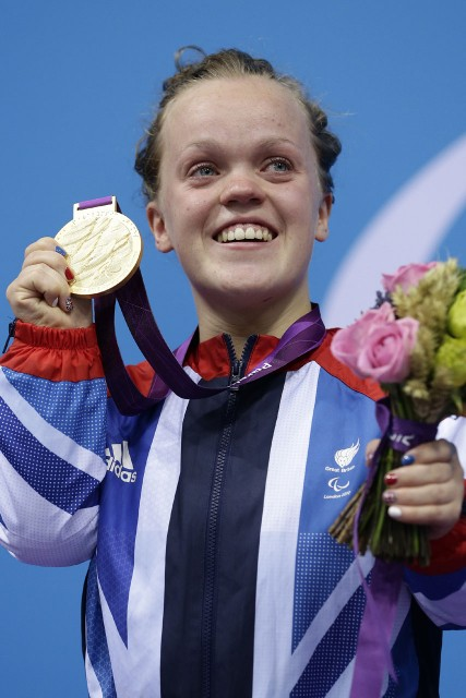 ellie simmonds, london paralympics 2012, gold medals, marie claire, marie claire uk, swimming