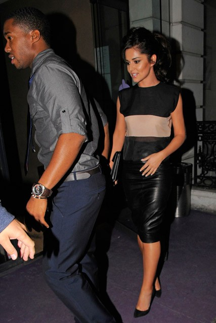 Cheryl Cole and Tre Holloway-
