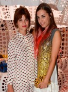 Celebrities at Louis Vuitton's Yayoi Kusama launch party