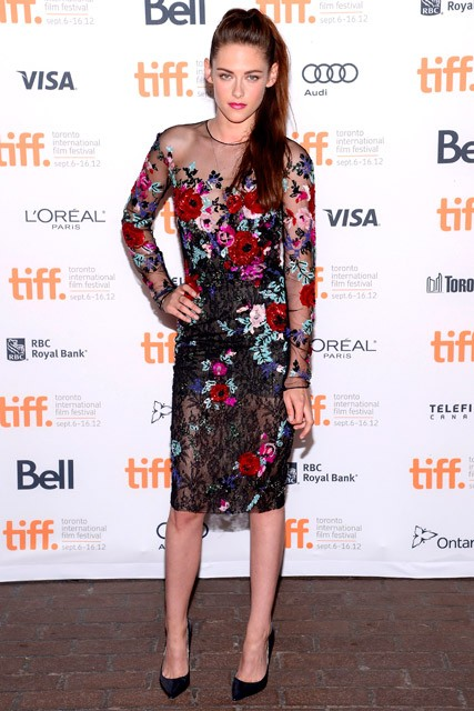 Kristen Stewart at the Toronto Film Festival premiere of On The Road