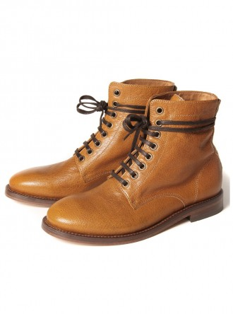 Hudson Barton mustard boot