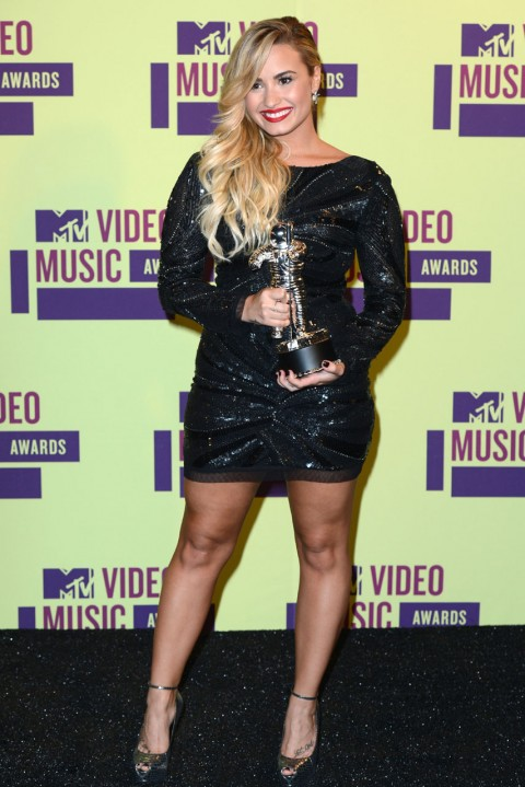 Demi Lovato at the MTV Video Music Awards 2012