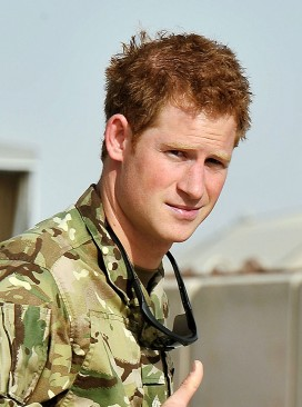prince harry, afghanistan, royal family, marie claire, marie claire uk