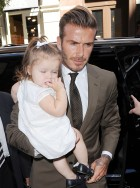 Harper and David Beckham