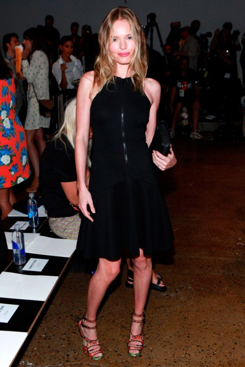 Kate Bosworth at New York Fashion Week spring/summer 2013