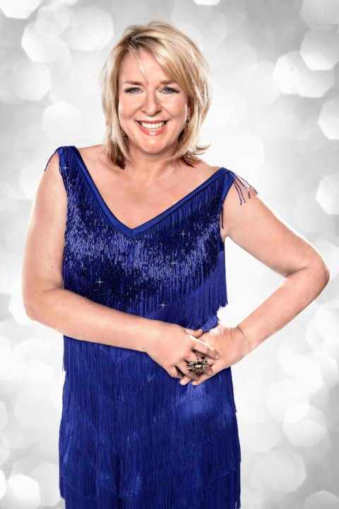 Fern Britton - Strictly Come Dancing 2012