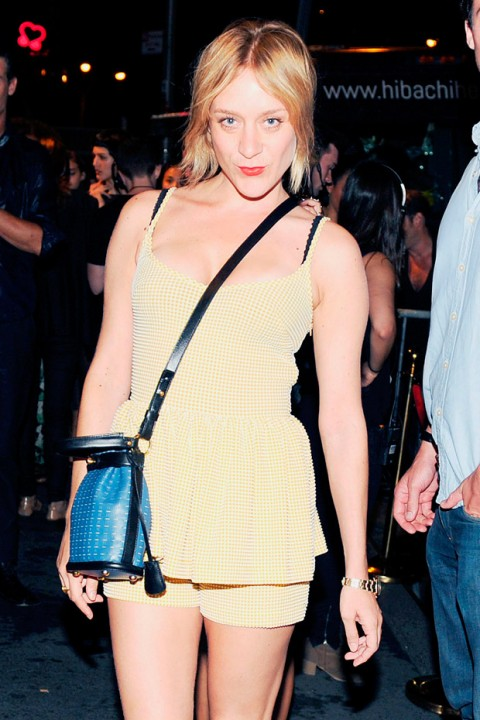 Chloe Sevigny at New York Fashion Week spring/summer 2013