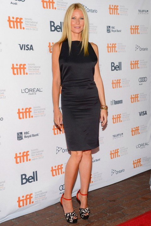 Gwyneth Paltrow at the Toronto Film Festival 2012