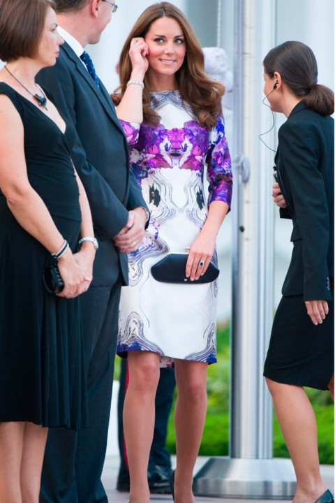 Kate Middleton wearing Prabal Gurung