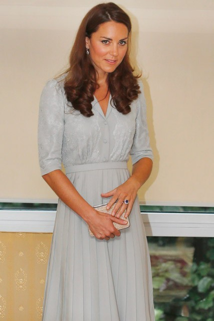 Kate Middleton wears Jenny Packham dress