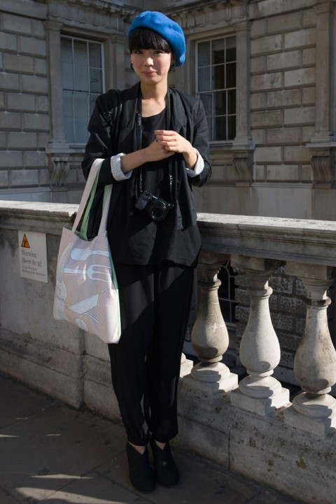 London Fashion Week spring/summer 2013 street style