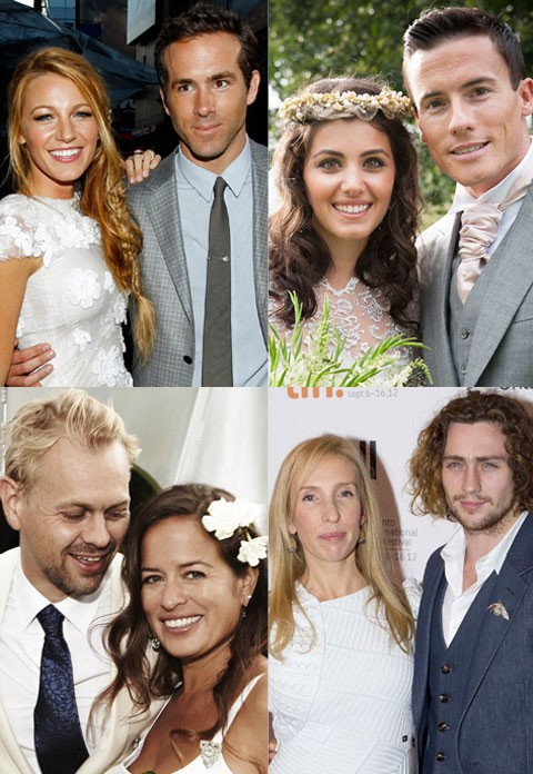 Celebrity weddings 2012