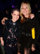 Kate Moss and Kelly Osbourne at The Serpentine Future Contemporaries party