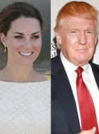 Kate Middleton Donald Trump