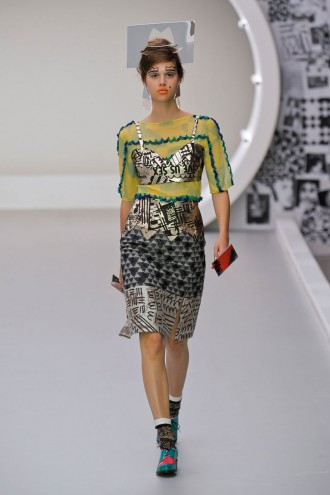 Louise Gray - London Fashion Week Spring Summer 2013 - Marie Claire - Marie Claire UK