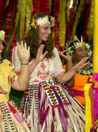 Kate Middleton dancing on Diamond Jubilee tour