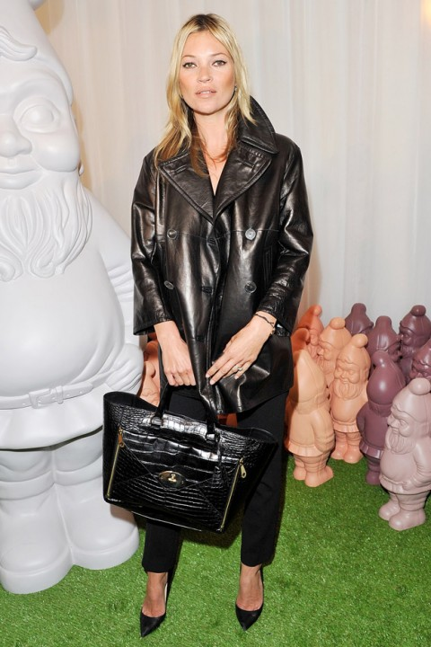 Kate Moss at Mulberry&#039;s spring/summer 2013 London Fashion Week show