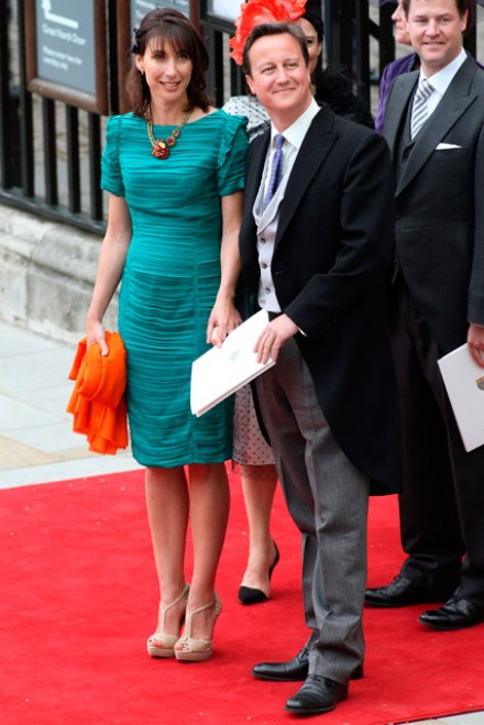 Samantha Cameron to sell her Burberry royal wedding dress on eBay