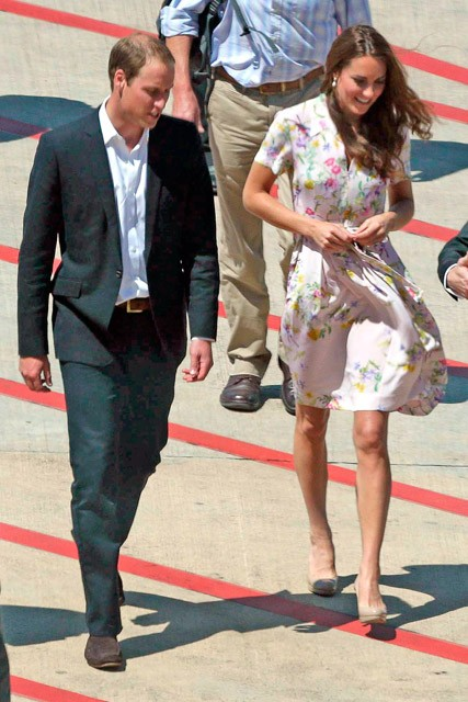 Kate Middleton wearing Project D