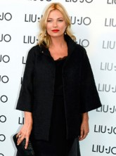 Kate Moss out and about during Milan Fashion Week spring/summer 2013