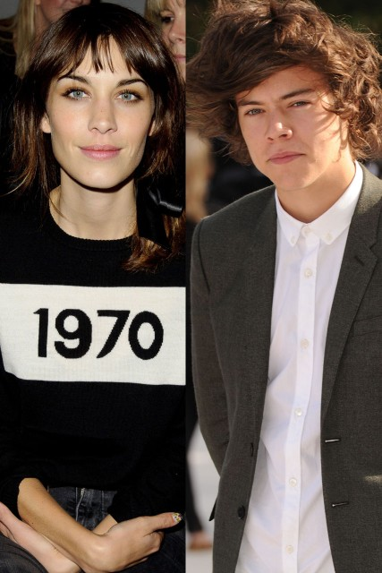 Alexa Chung Harry Styles