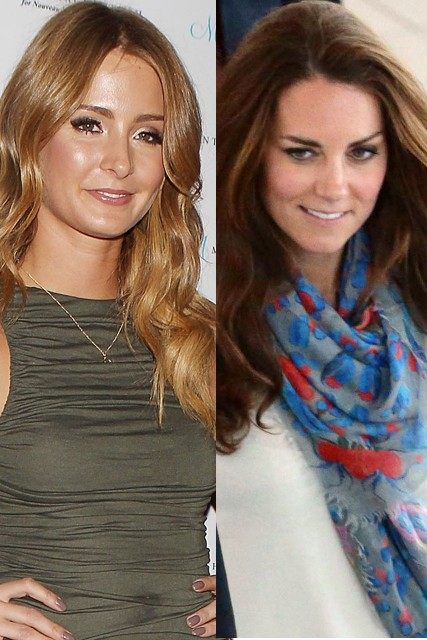Millie Mackintosh Kate Middleton
