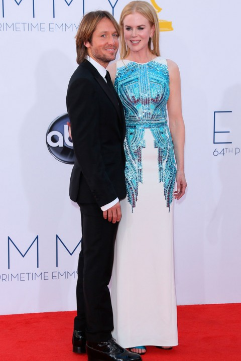 Nicole Kidman & Keith Urban at the 64th Annual Primetime Emmy Awards