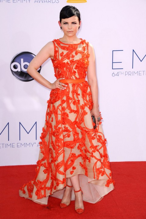 Ginnifer Goodwin at the 64th Annual Primetime Emmy Awards
