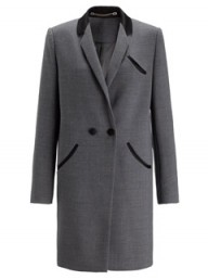 Whistles Limited Edition Grey Tux Coat