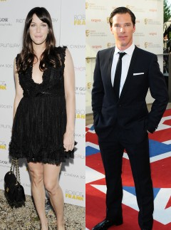 Benedict Cumberbatch and Liv Tyler 