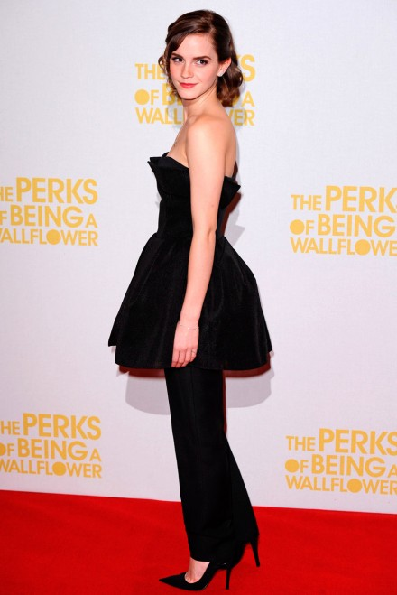Emma Watson at The Perks of Being a Wallflower screening