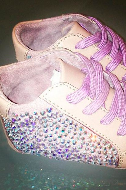 Blue Ivy's baby shoes 
