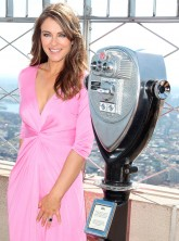 Liz Hurley for Breast Cancer Awareness Month